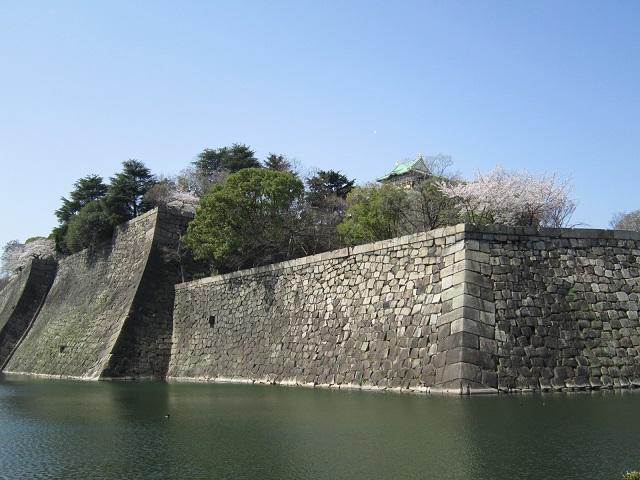 大阪城の石垣