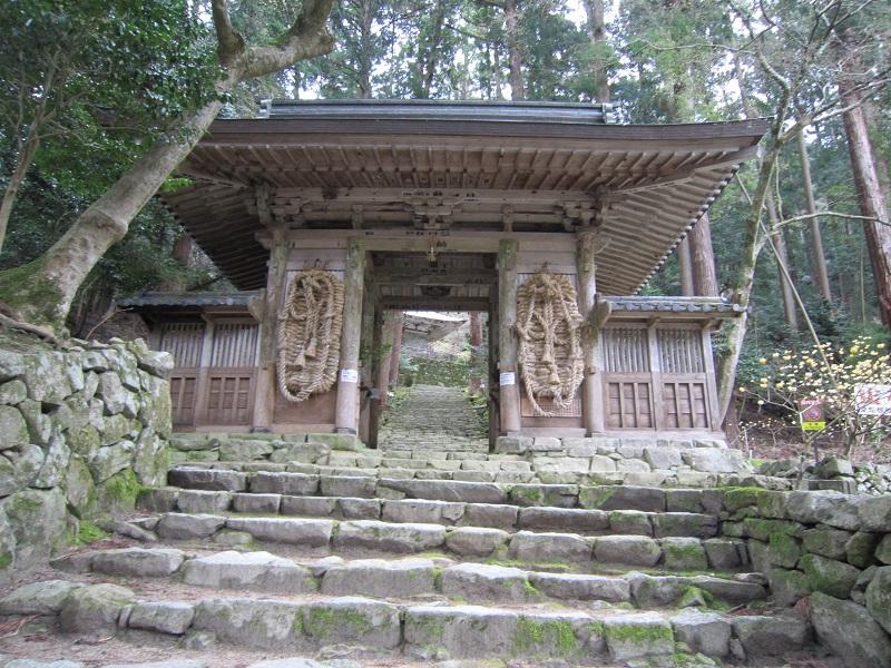 百済寺 仁王門