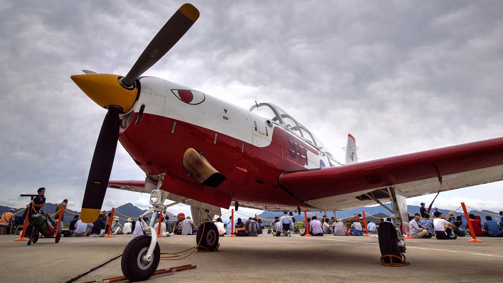 T-7 航空学生制度60周年記念塗装機