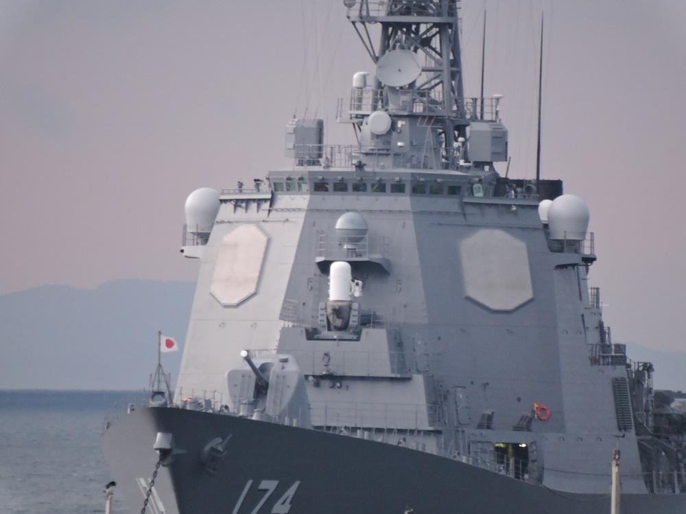 イージス艦「きりしま」 - メバル 警備所