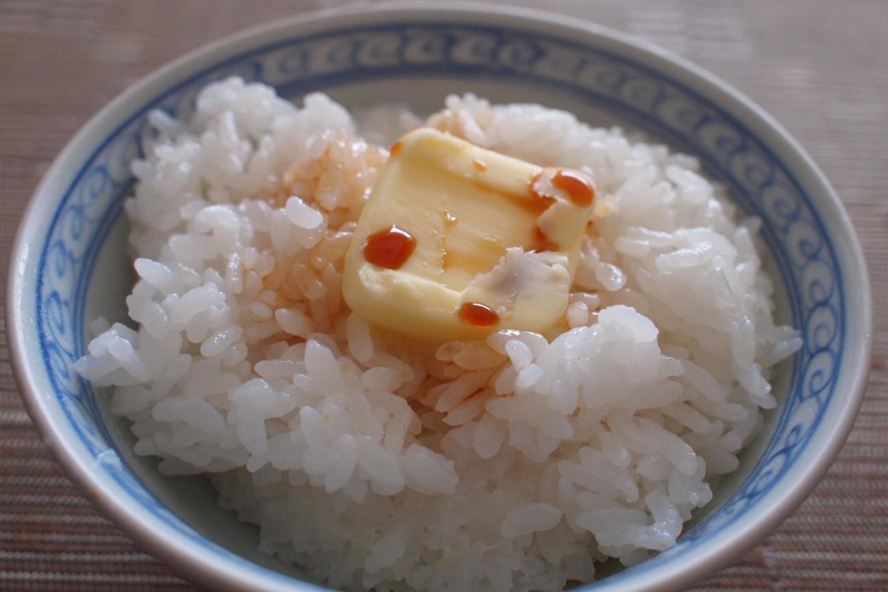 バターご飯