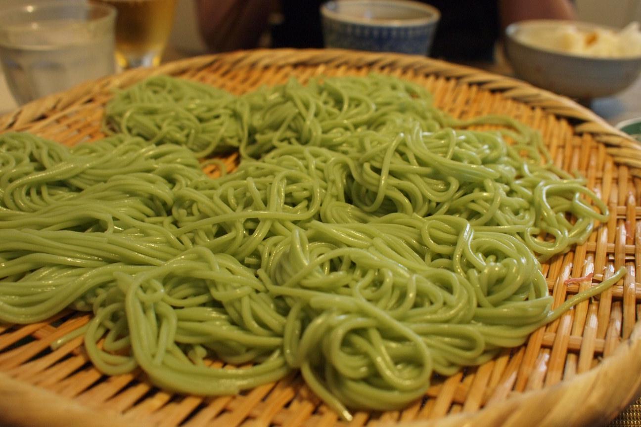 グリーン麺
