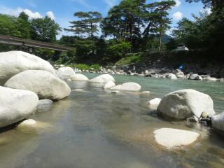 黄和田キャンプ場愛知川