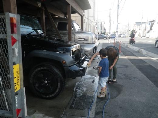 洗車 (2)