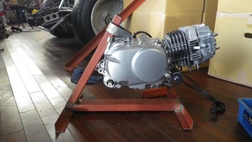 エンジンスタンドを作成する。 (9)