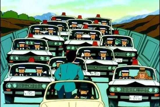 ルパン三世 パトカー 警察