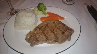 ディナーお肉